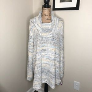 Style & Co Cow Neck Sweater NEW!
